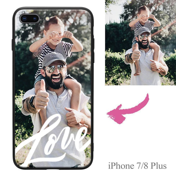 iPhone7p/8p Custom Love Photo Protective Phone Case