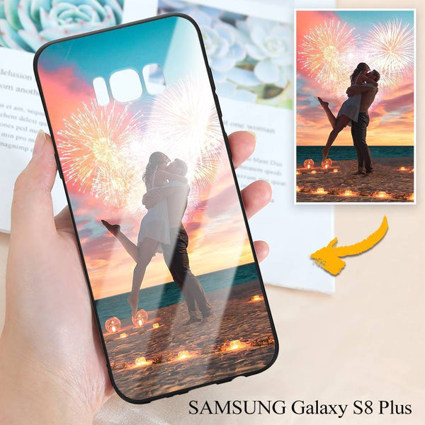 Samsung Galaxy S8 Plus Custom Photo Protective Phone Case - Glass Surface