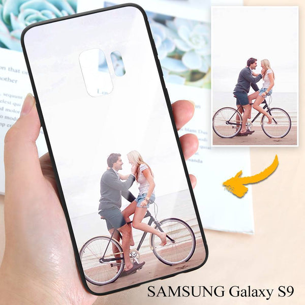 Samsung Galaxy S9 Custom Photo Protective Phone Case - Glass Surface