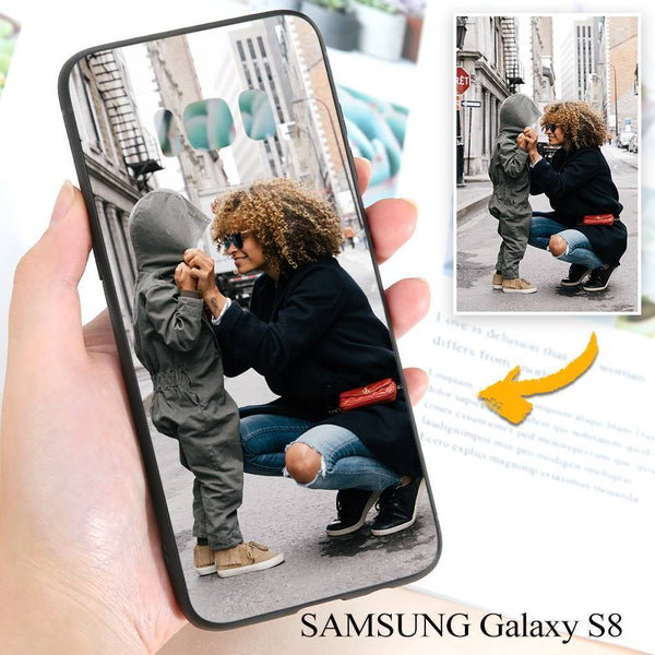 Samsung Galaxy S8 Custom Photo Protective Phone Case