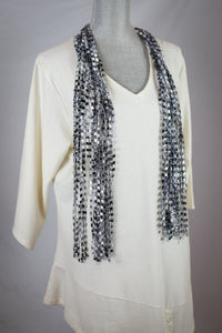 Traditional Ribbon Scarf - Long