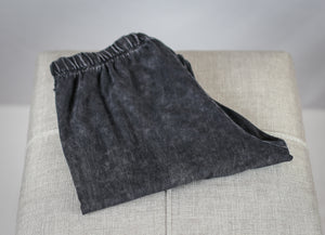 Slim Leg Mineral Washed Pant