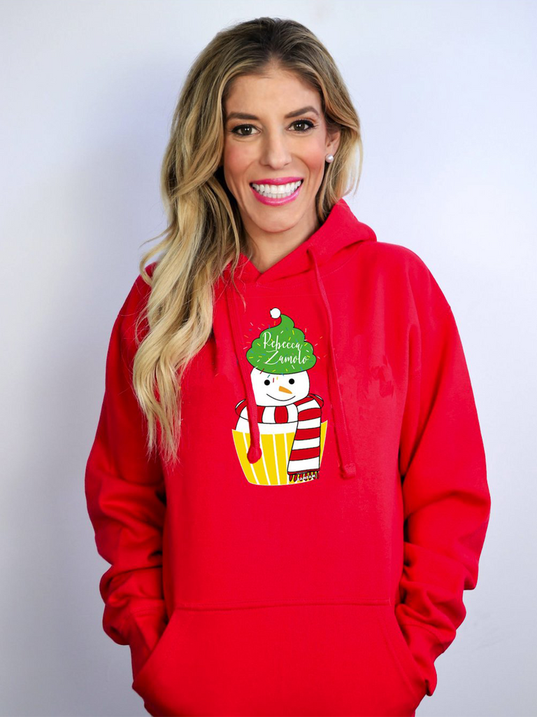 Snowman Holiday Hoodie