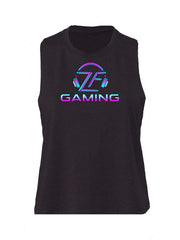 Limited Edition Cropped ZF Pink Gaming Tank