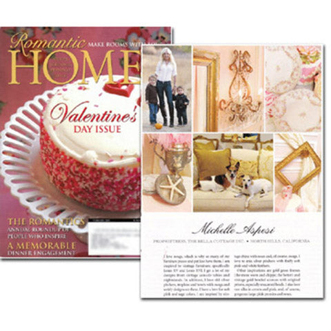 Romantic Homes -  Feb 2008 Romantics Issue!