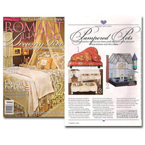 Romantic Living, Jan 2007 Premier Issue!