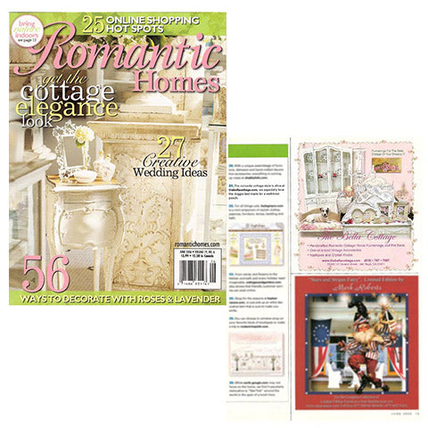 Romantic Homes, June 2006, Vol 19, No.6