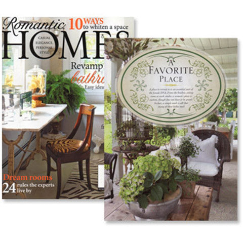 Romantic Homes, October 2011 Issue!