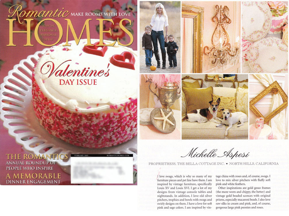 Romantic Homes, Feb 2008 Romantics Issue
