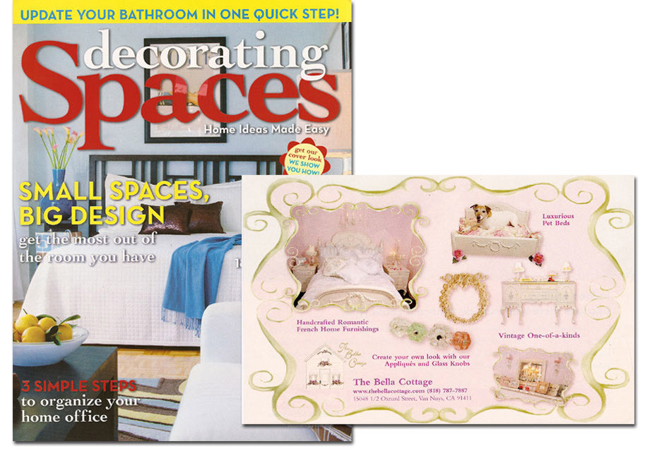 Decorating Spaces, July/August 2005 Issue