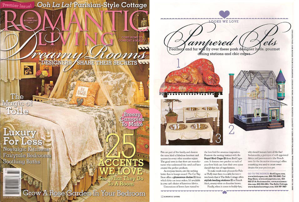 Romantic Living, Jan 2007 Premier Issue