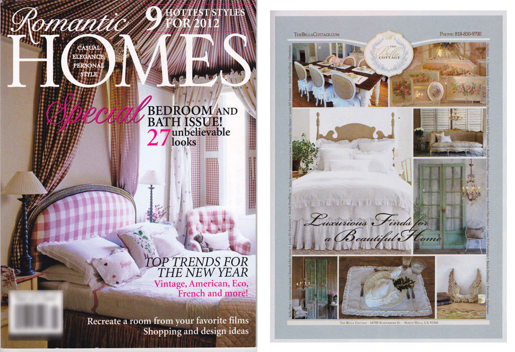 Romantic Homes, January 2012 Issue!