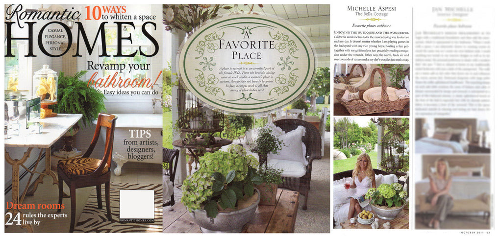 Romantic Homes, October 2011 Issue
