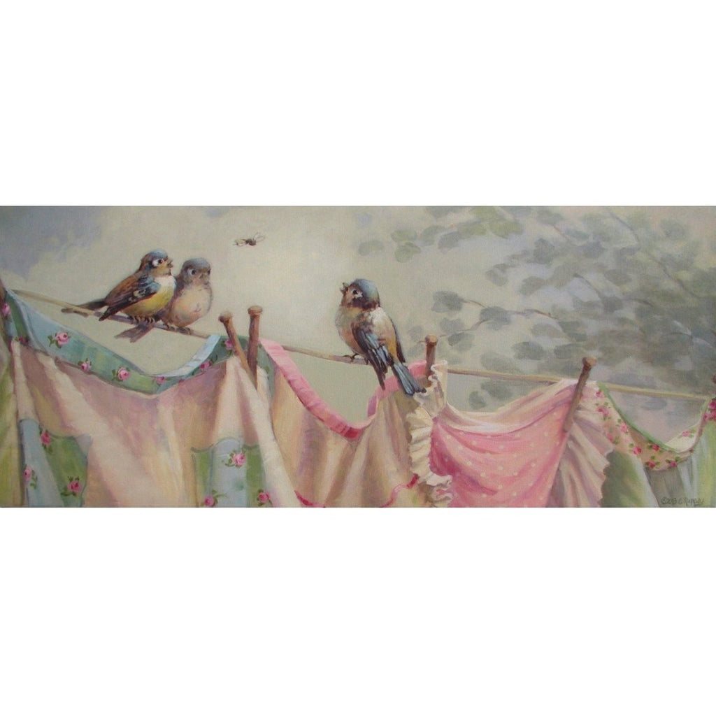 Christie Repasy Cherry Laundry Day Canvas Giclee Print