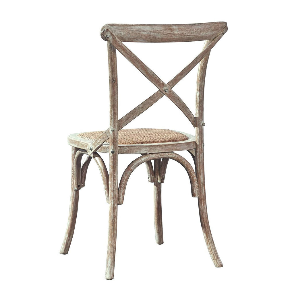 Beverly Side Chair in Medium Finish