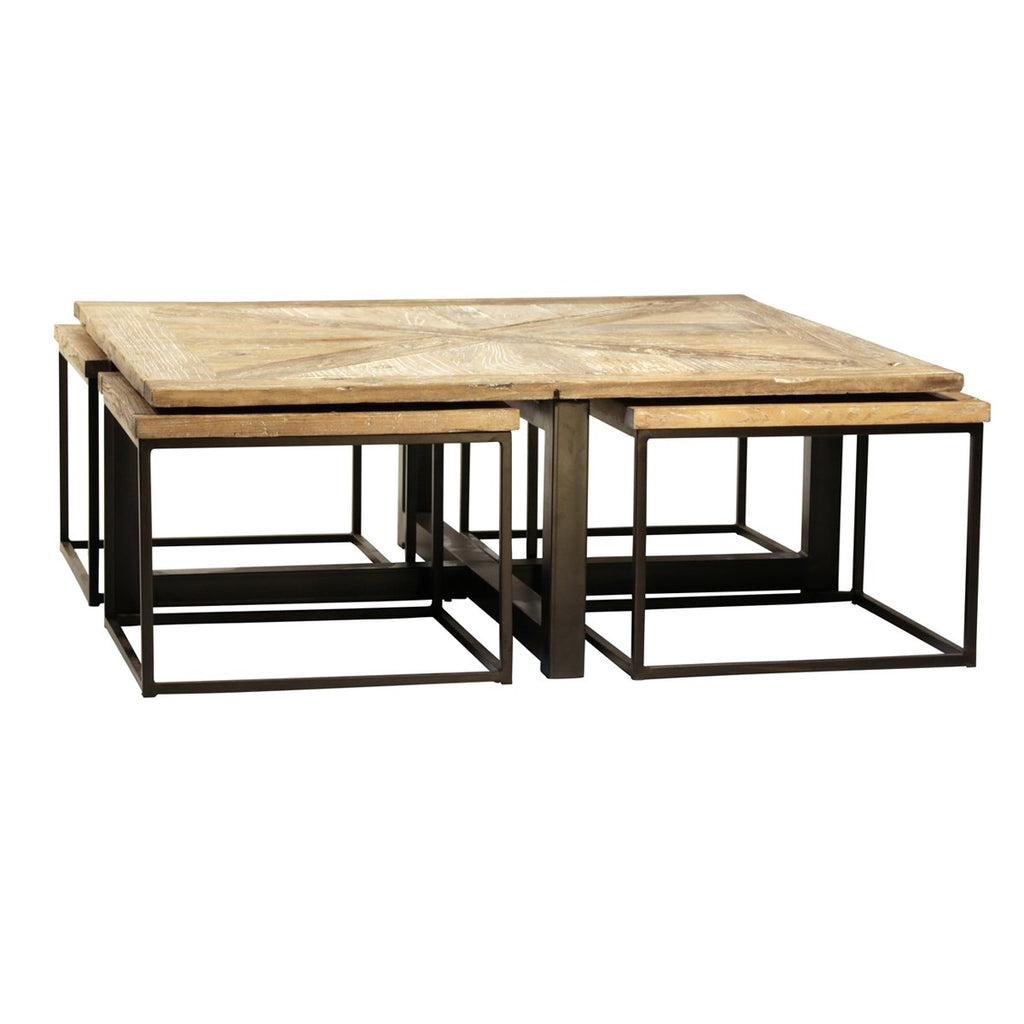 Diamonte Parquet Nesting Tables