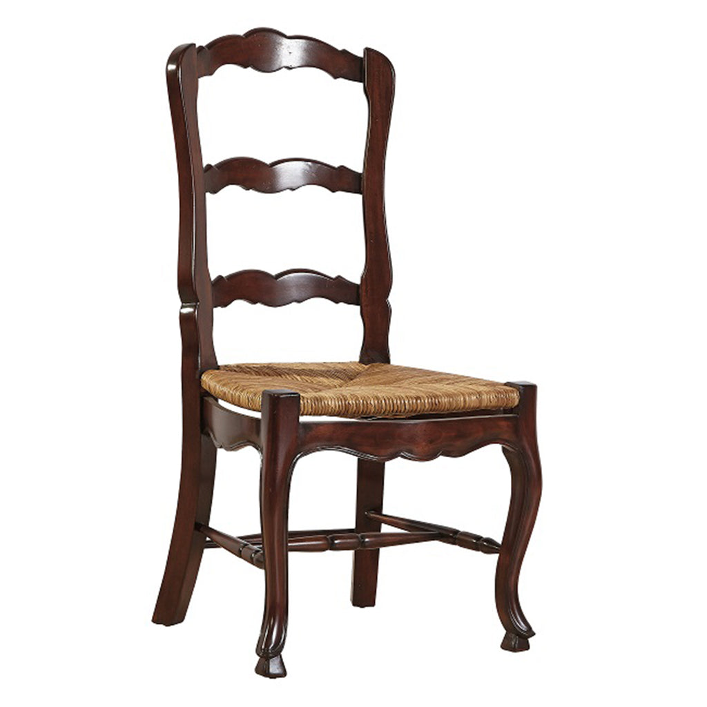 Ladderback Side Chair in Mahogany