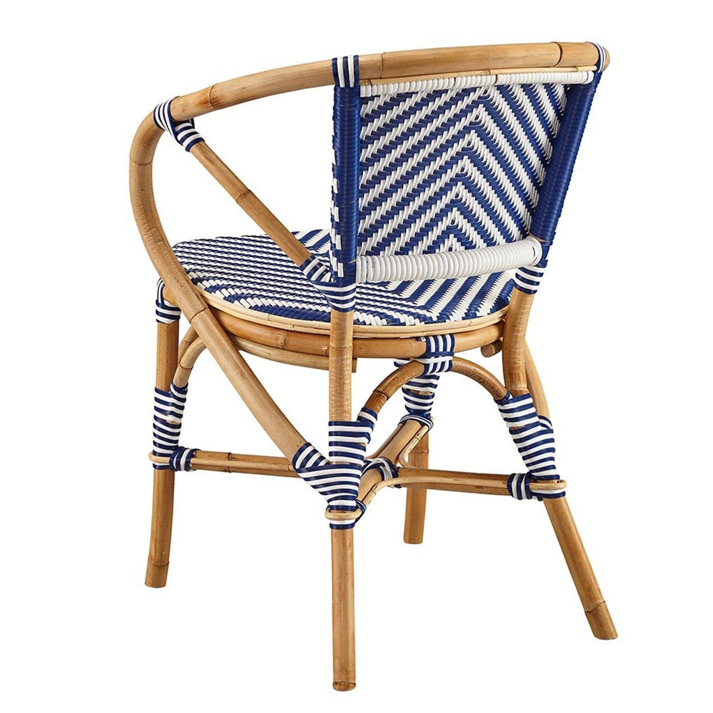 French Style Bistro Chair in Blue