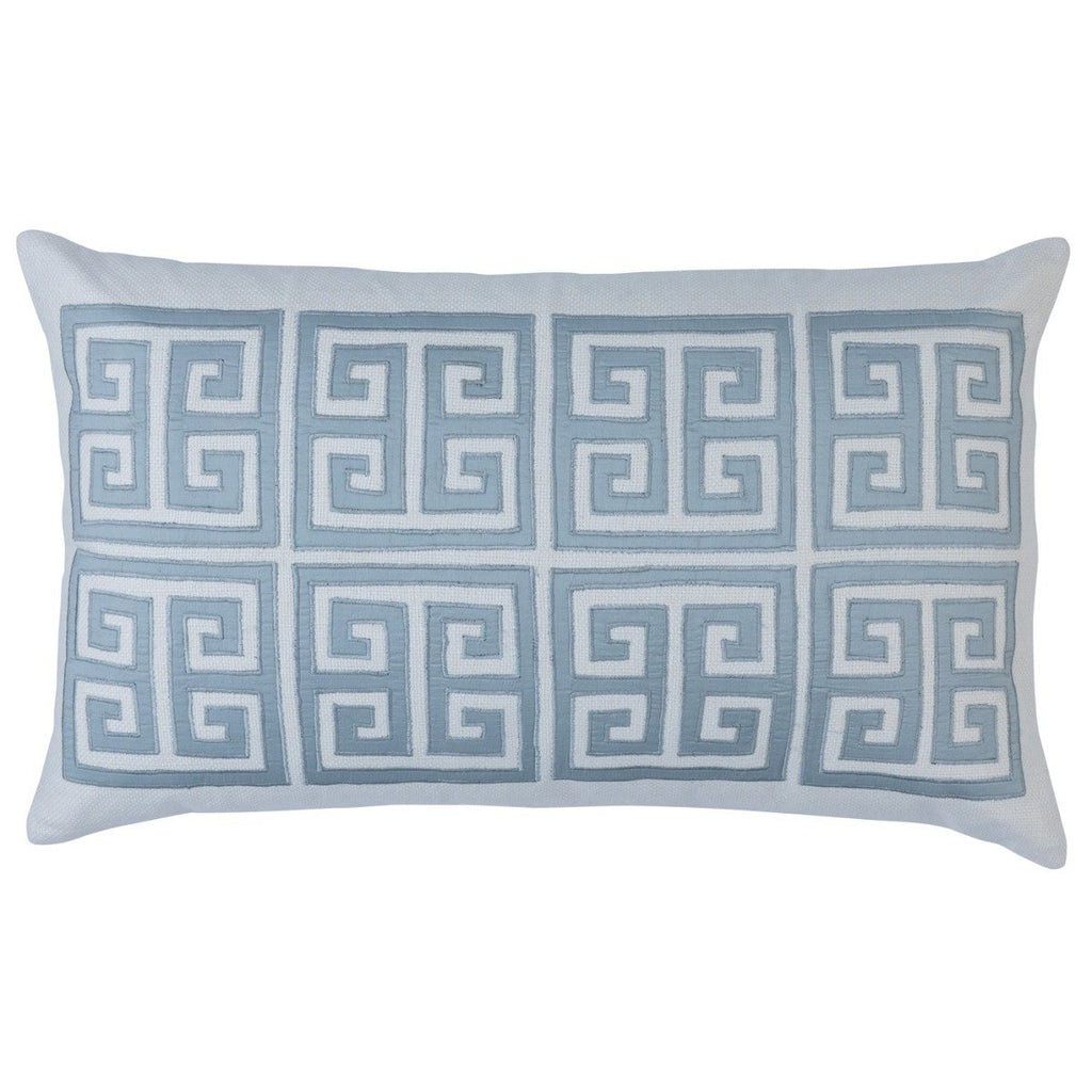 Lili Alessandra Guy Large Border Pillow