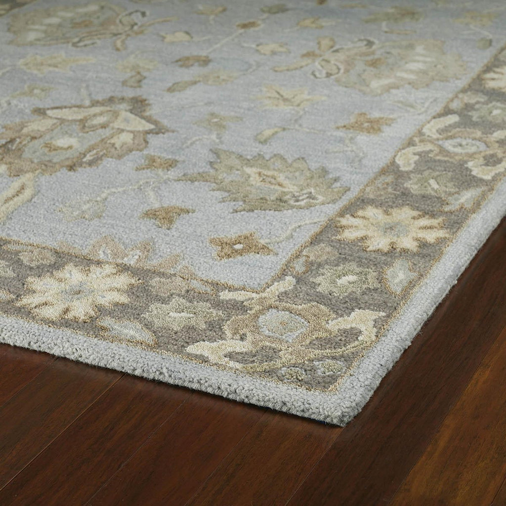 Brooklyn Silver Wool Rug