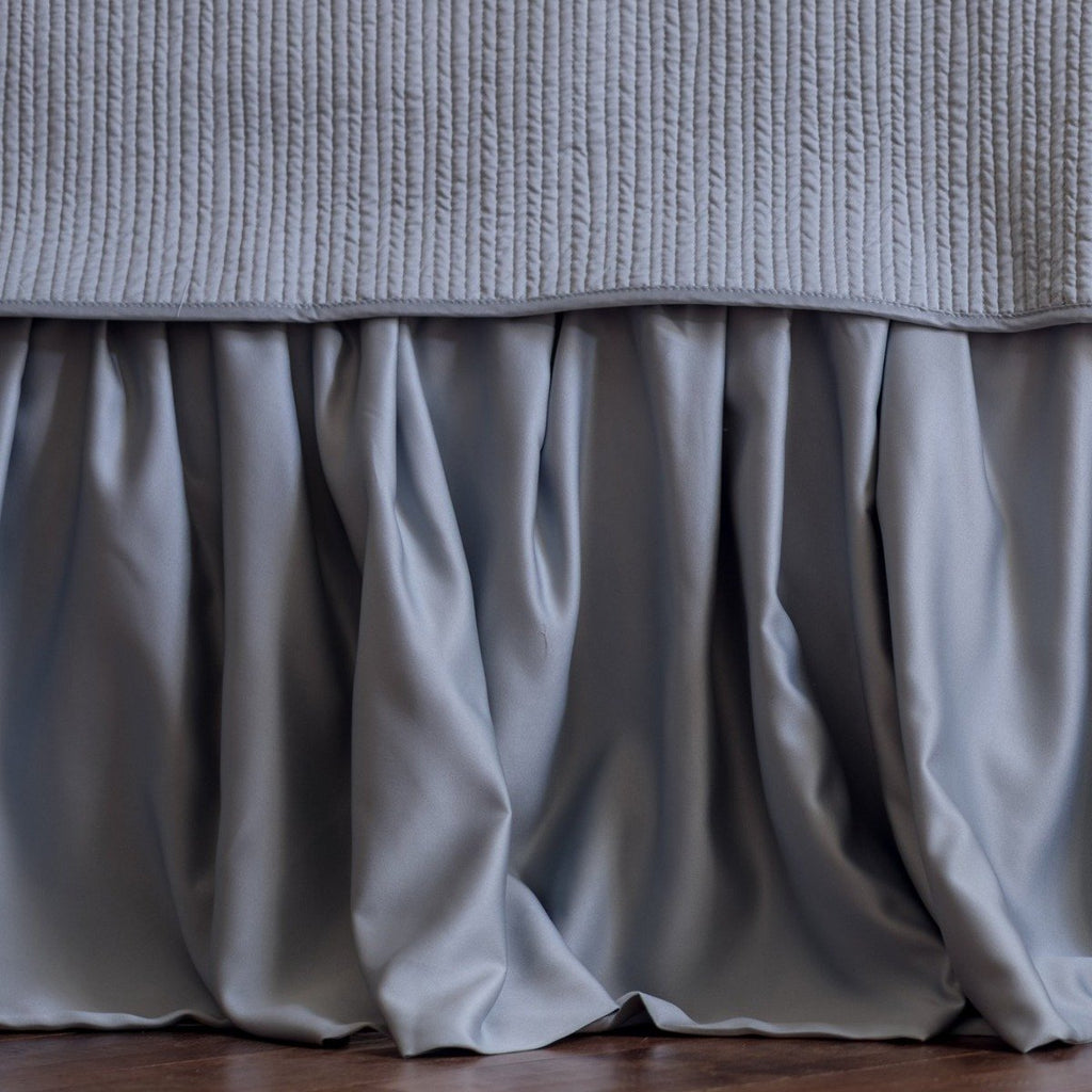 Lili Alessandra Retro Gathered Bed Skirt