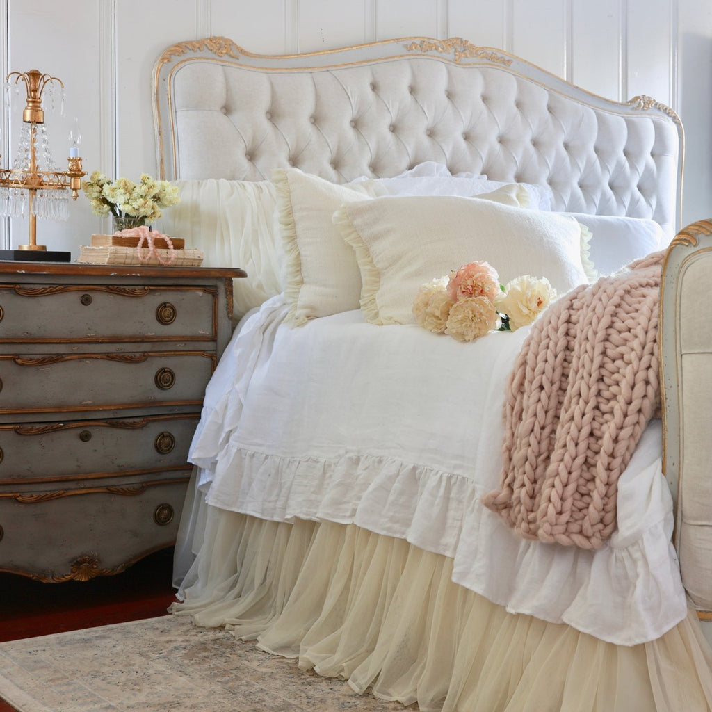 Whisper Gathered Bed Skirt