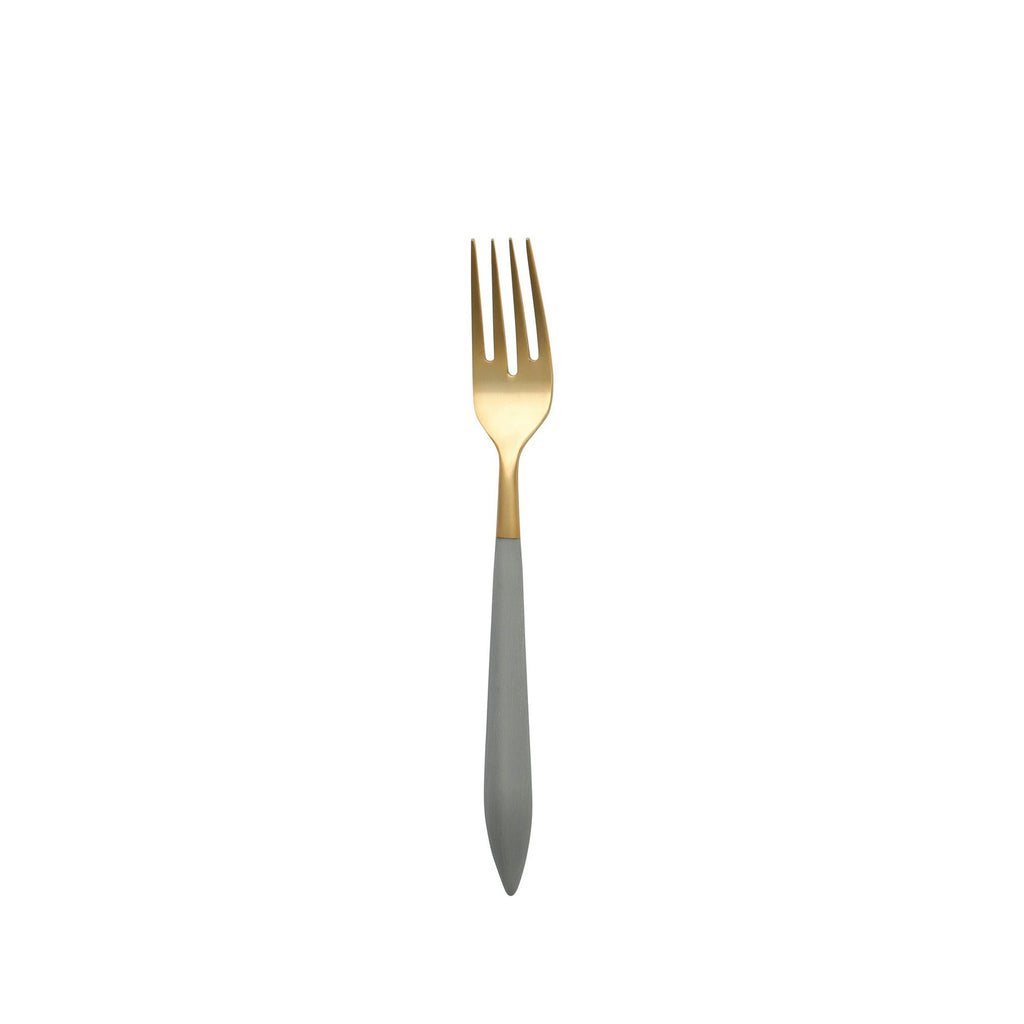 Ares Oro & Light Gray Salad Fork