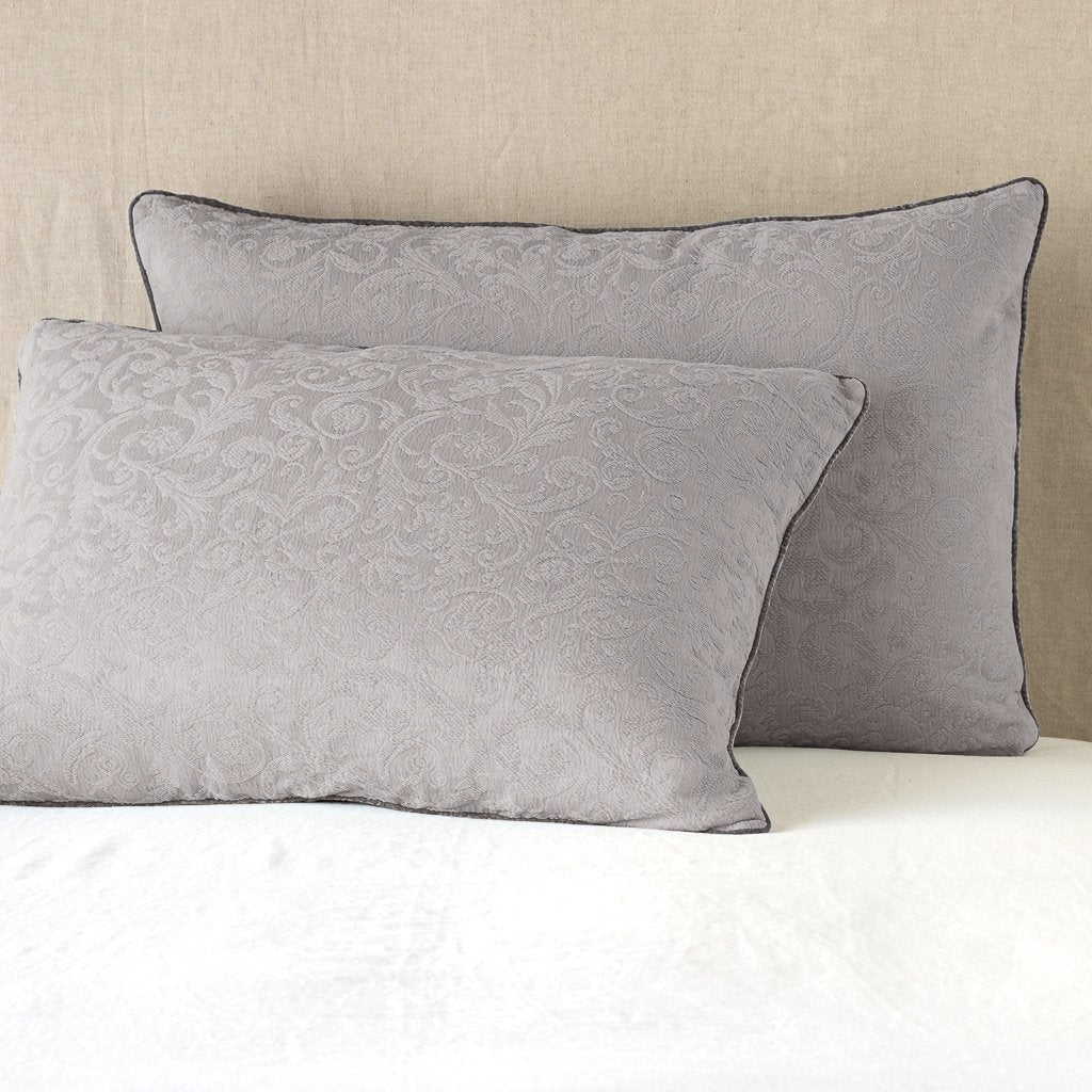 Bella Notte Adele Pillow Sham with Silk Velvet Edge