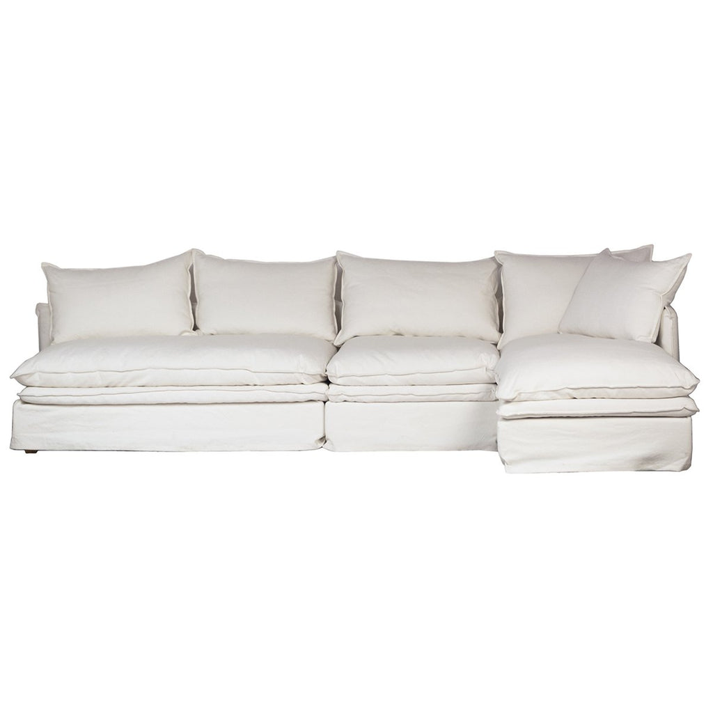 Jovial L-Shape Sofa with Right Side Chaise