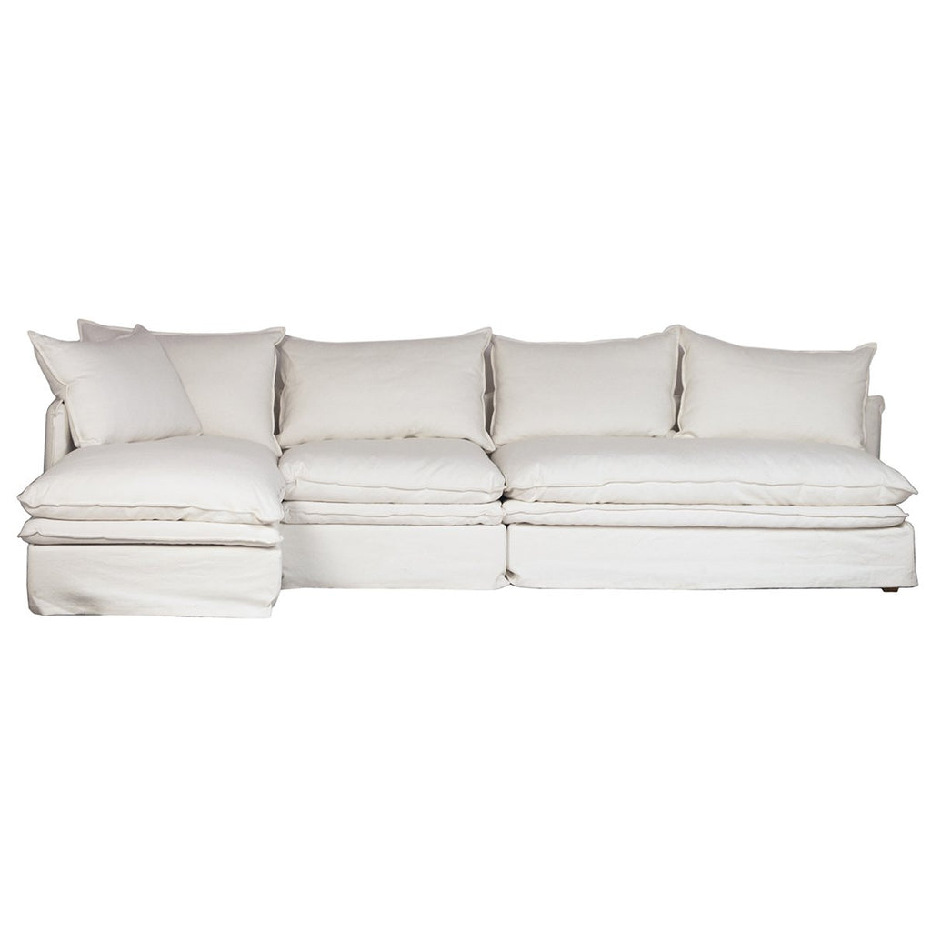 Jovial L-Shape Sofa with Left Side Chaise
