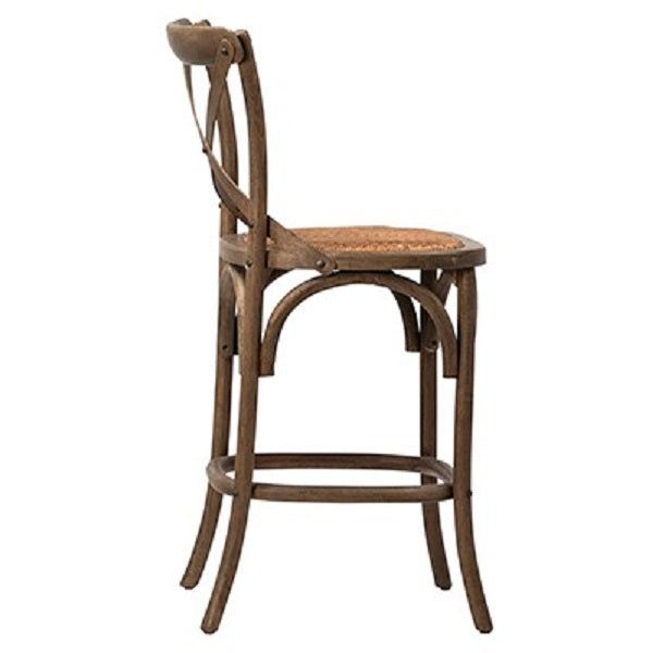 Natural Gifford French Bistro Counter Stool