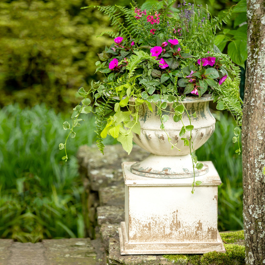 Antique Style Urn with Pedestal