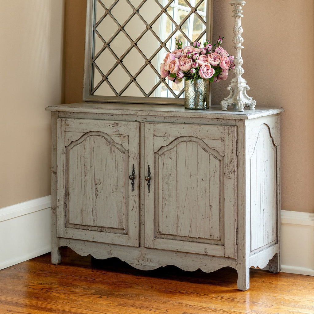 French Inspired Grey Sideboard