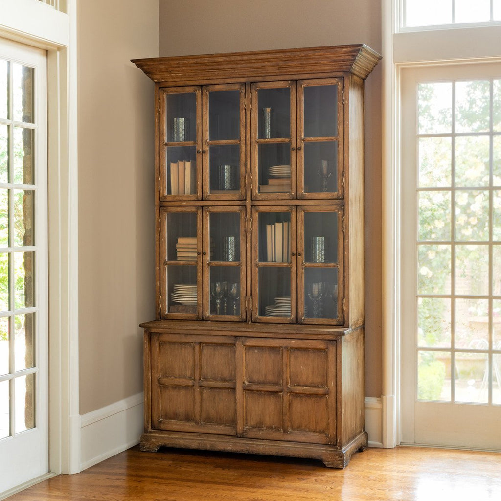 Farm House Hutch Cabinet