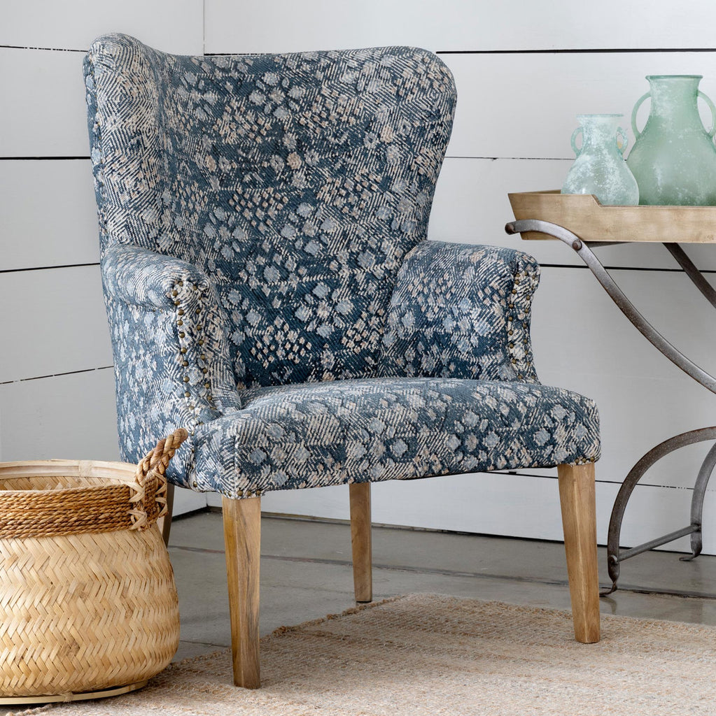 Flora Upholstered Arm Chair