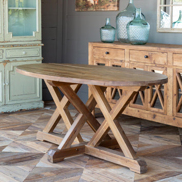 Vintage One Of A Kind Dining Tables French Chic Vintage Dining Table The Bella Cottage The Bella Cottage Inc
