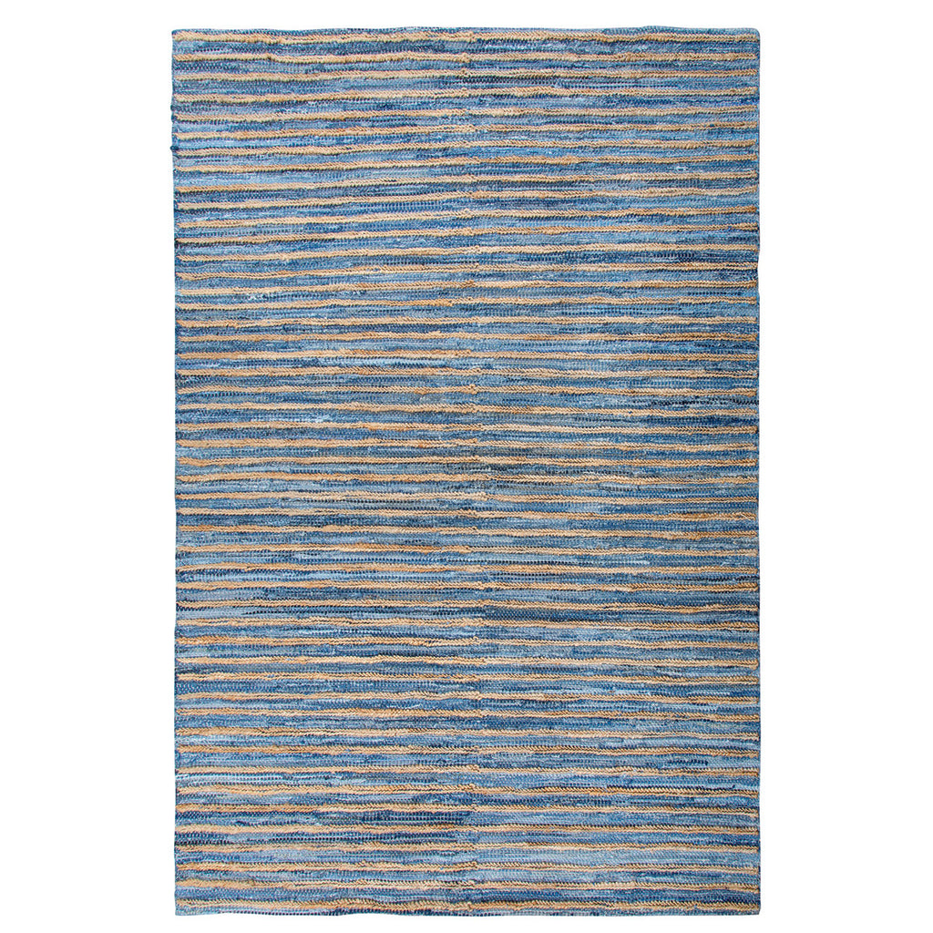 Unique Denim Hemp 5' x 8' Rug