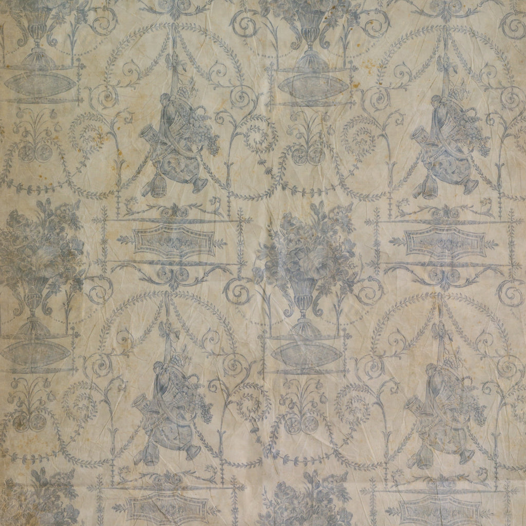 Vieux Carre Blue Wallpaper