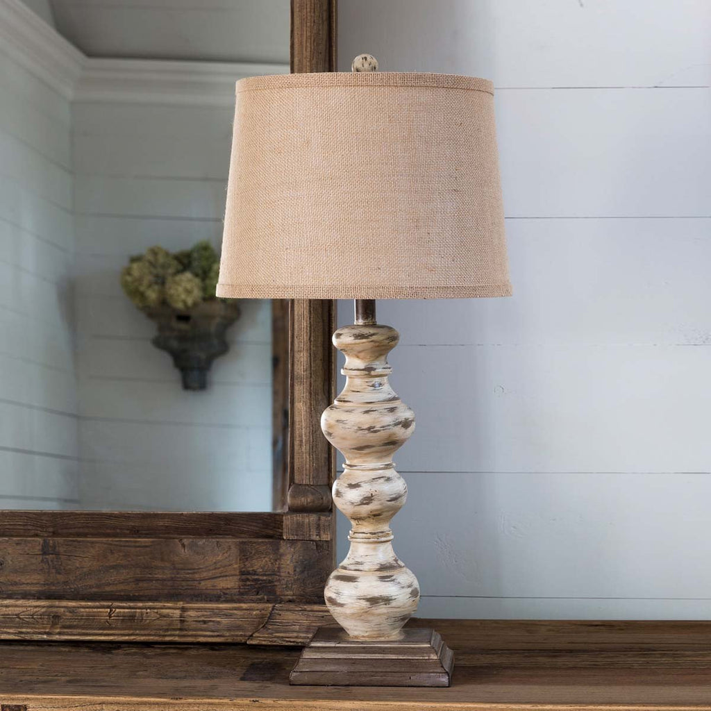 Antique Style Turned Lamp