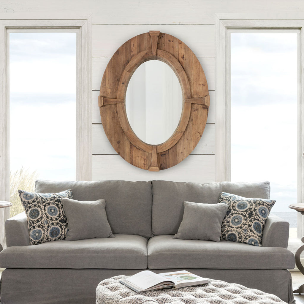 Elegant Estate Oval Mirror