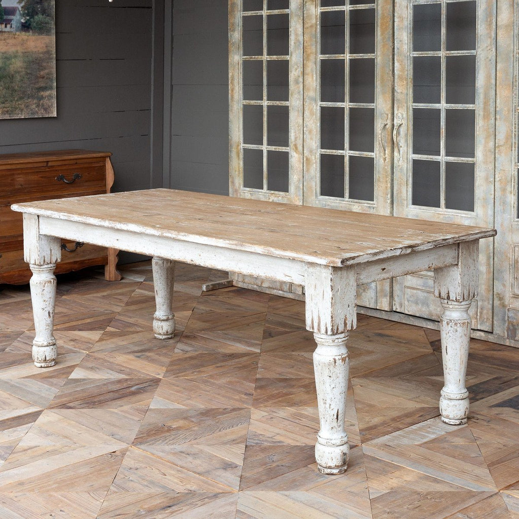 French Farmhouse Style Dining Table