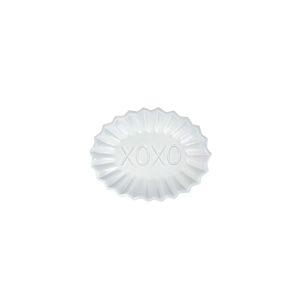 Incanto Pleated XOXO Plate