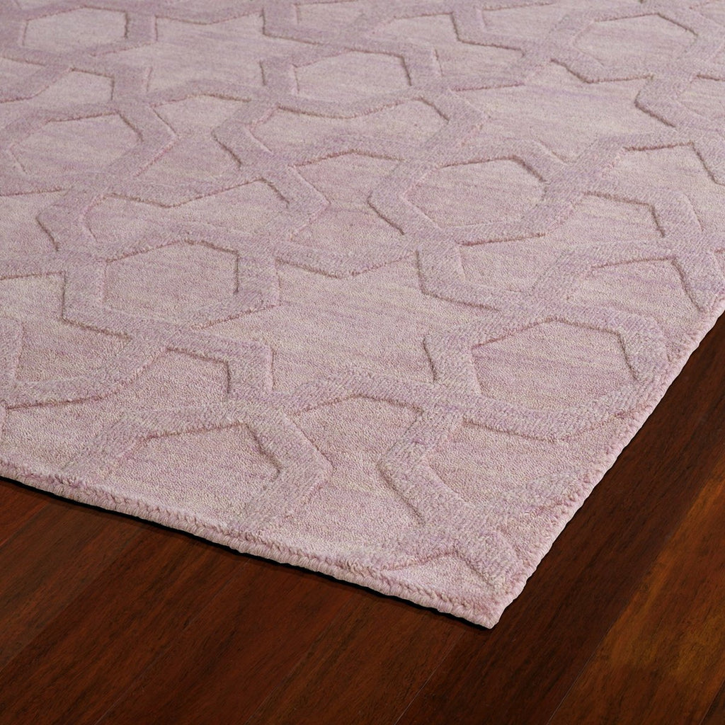 Imprints Lilac Wool Rug