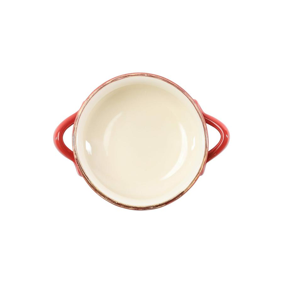 Italian Bakers Small Handled Round Baker