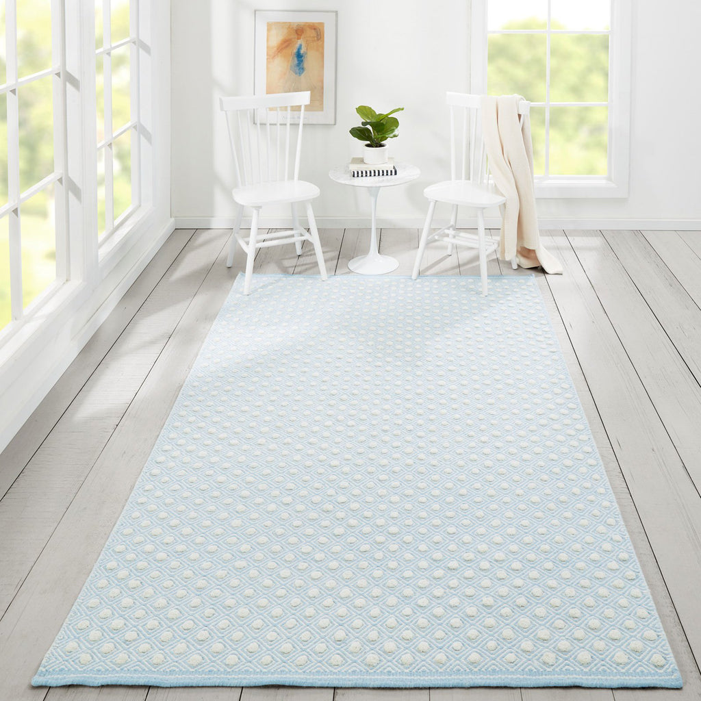 Windsor Blue Wool Rug