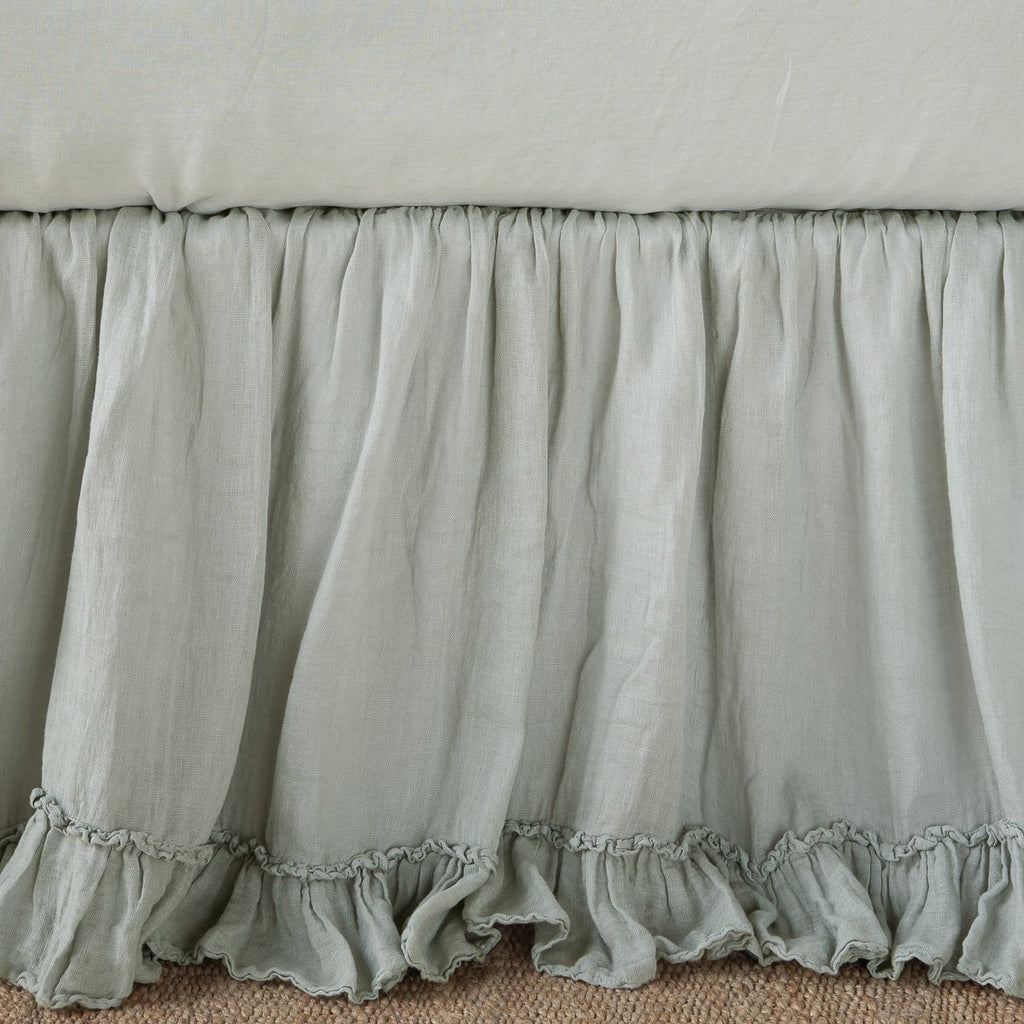 Bella Notte Linen Whisper Bed Skirt