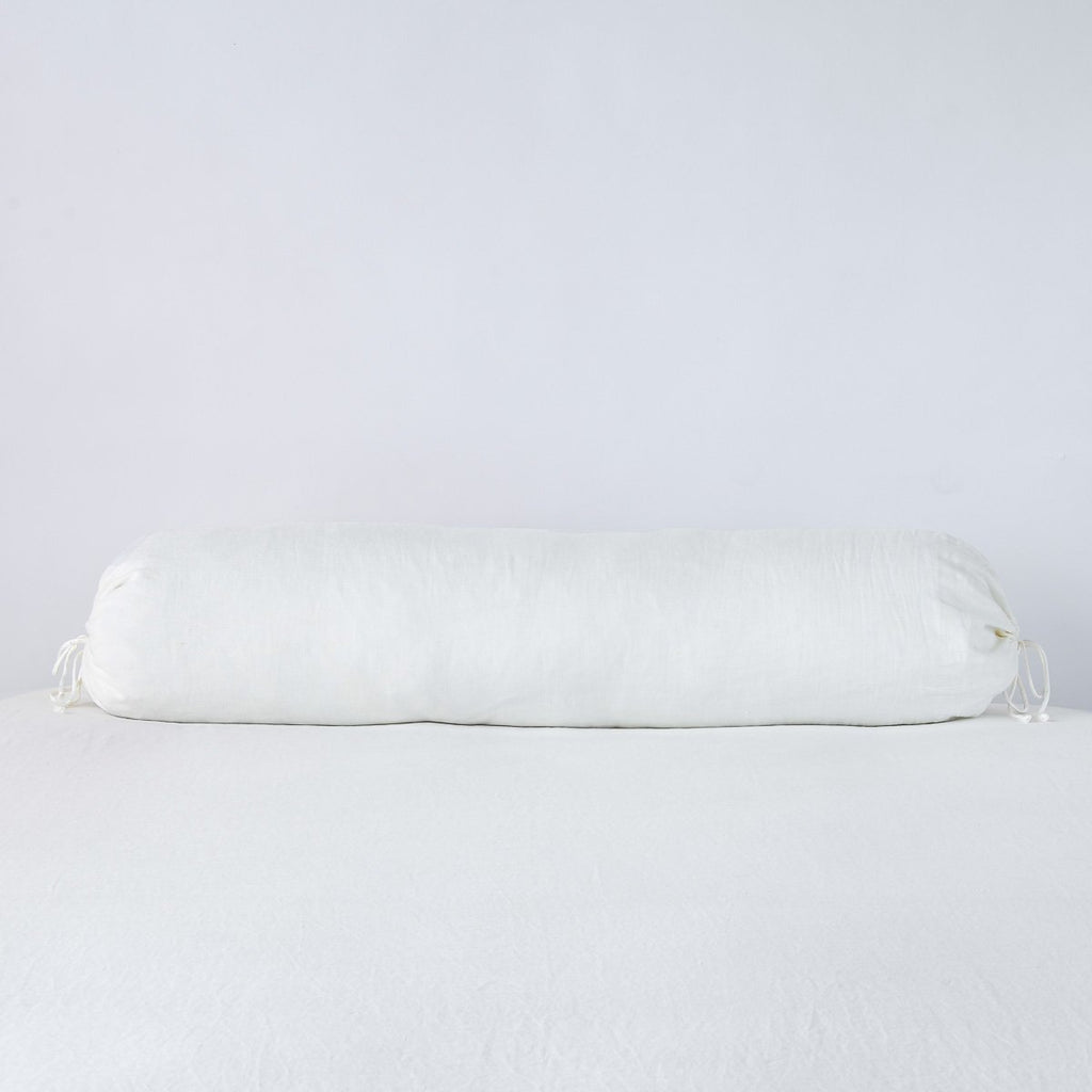 Bella Notte Linen Bolster Pillow