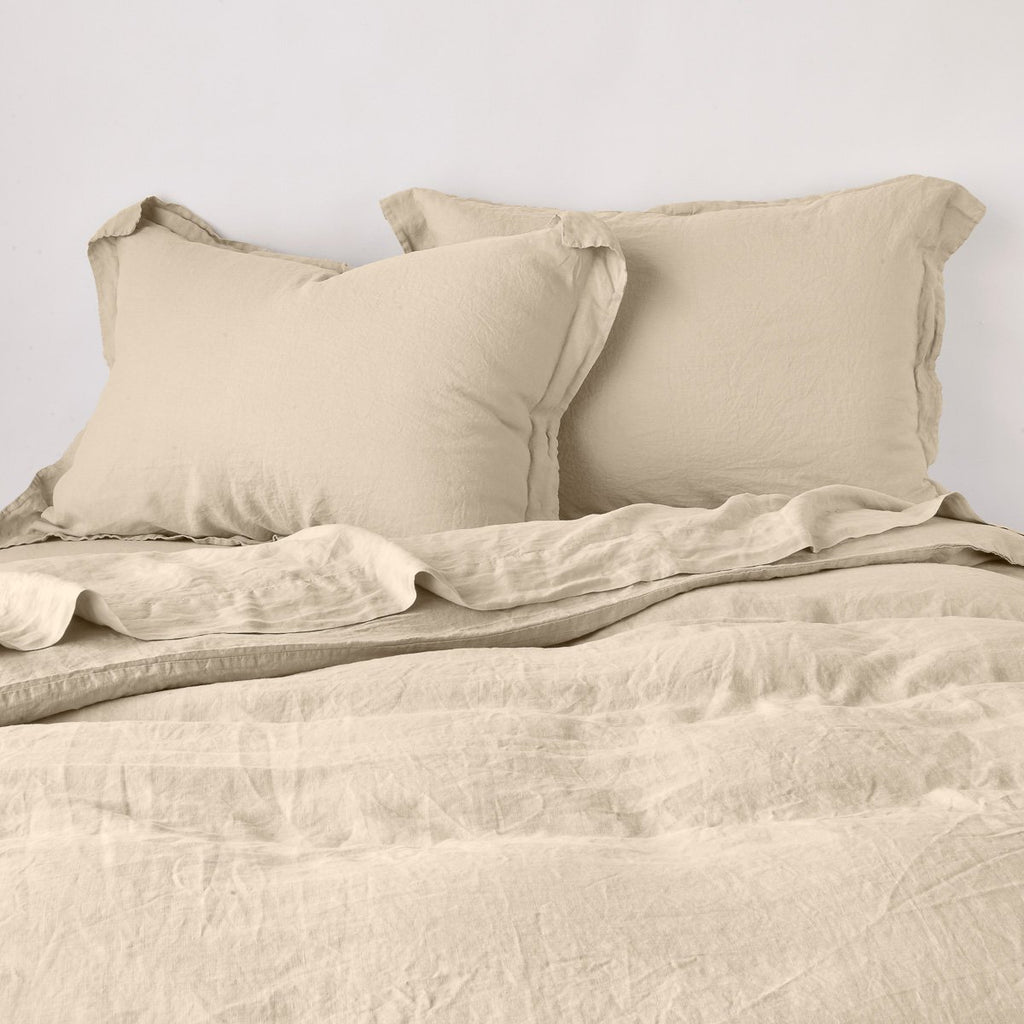 Bella Notte Linen Pillow Sham