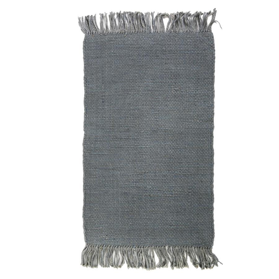 Pom Pom at Home Nile Handwoven Rug in Nordic Blue