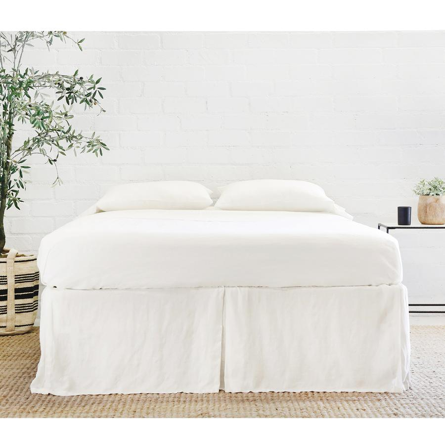 Pom Pom at Home Pleated Linen Bed Skirt